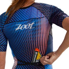 Zoot LTD Tri Aero Racesuit Doorlopende Rits Plus Dames, stoke